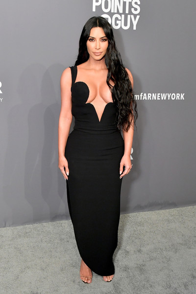 Kim Kardashian At The 2019 amfAR New York Gala