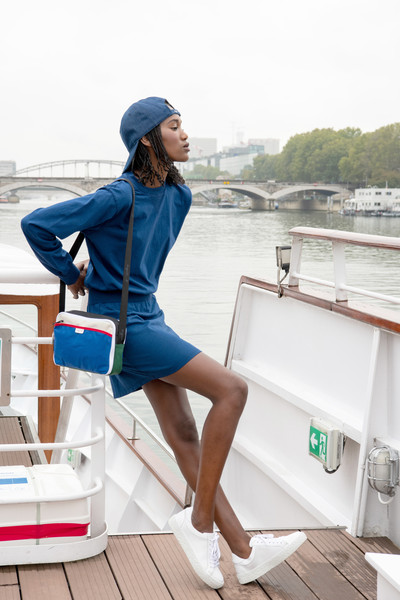 Agnès B. at Paris Spring 2021 [blue,white,clothing,leg,footwear,fashion,cobalt blue,electric blue,street fashion,shoe,shoe,jeans,outerwear,agnes b,cobalt blue,water,headgear,fashion,paris fashion week,vacation,jeans,outerwear,denim,vacation,electric blue m,cobalt blue,shoe,water,headgear,microsoft azure]