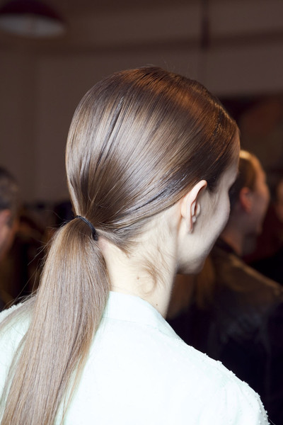 Aigner at Milan Fall 2012 (Backstage)