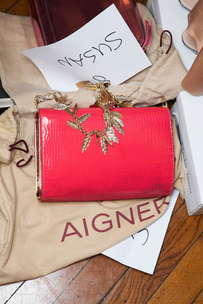 Aigner at Milan Spring 2013 (Backstage)