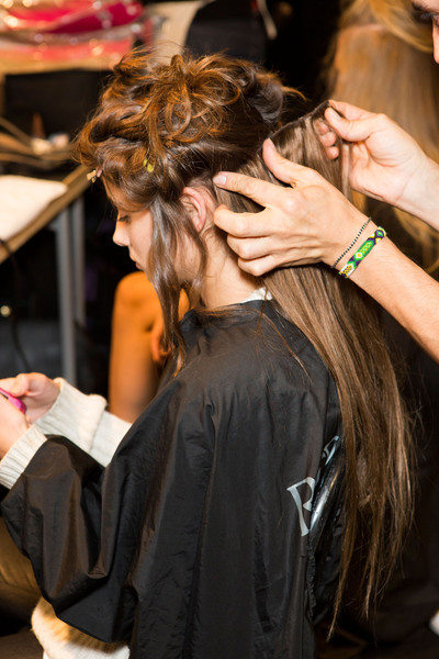 Alberta Ferretti at Milan Spring 2015 (Backstage)