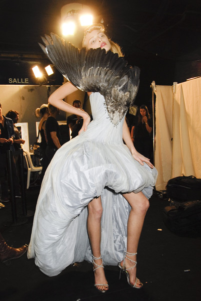 Alexander McQueen at Paris Spring 2008 (Backstage)