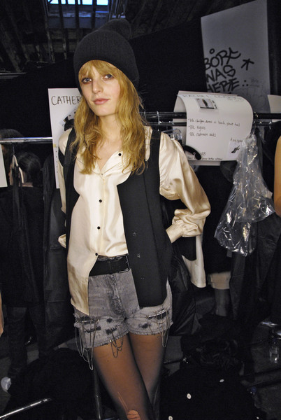 Alexander Wang at New York Fall 2008 (Backstage)