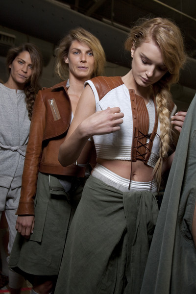 Alexander Wang at New York Spring 2010 (Backstage)