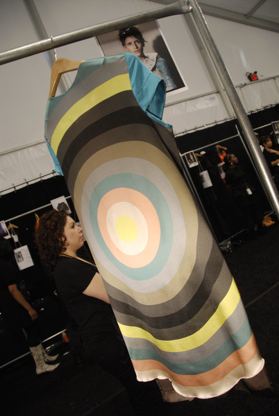 Alexandre Herchcovitch at New York Fall 2008 (Backstage)