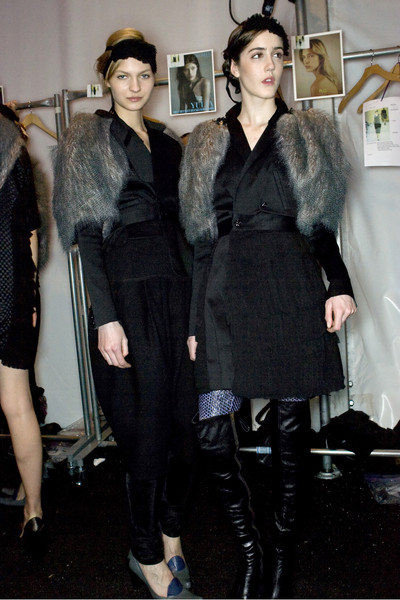 Alexandre Herchcovitch at New York Fall 2009 (Backstage)