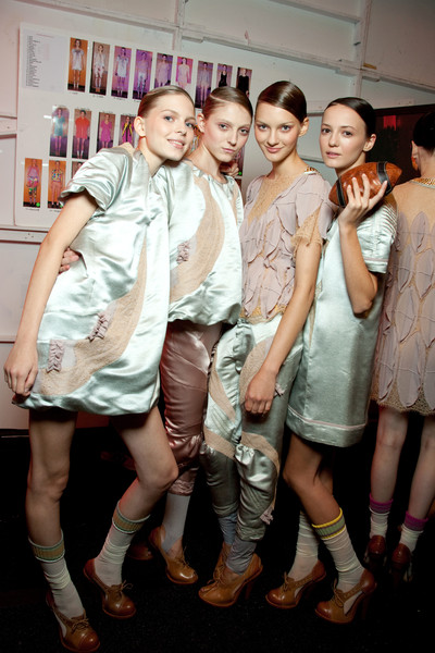 Alexandre Herchcovitch at New York Spring 2010 (Backstage)