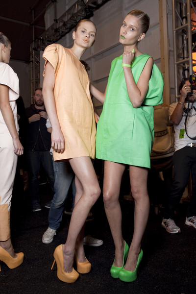 Alexandre Herchcovitch at New York Spring 2011 (Backstage)