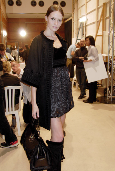 Andrew Gn at Paris Fall 2007 (Backstage)