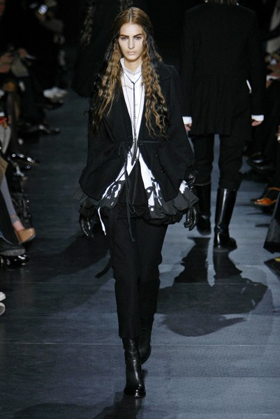 Ann Demeulemeester at Paris Fall 2007
