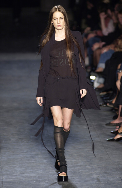 Ann Demeulemeester at Paris Spring 2004