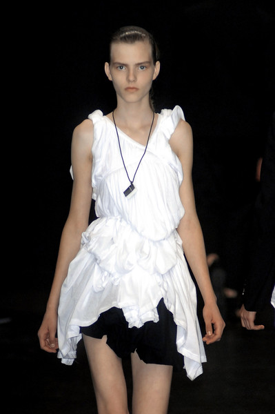 Ann Demeulemeester at Paris Spring 2009