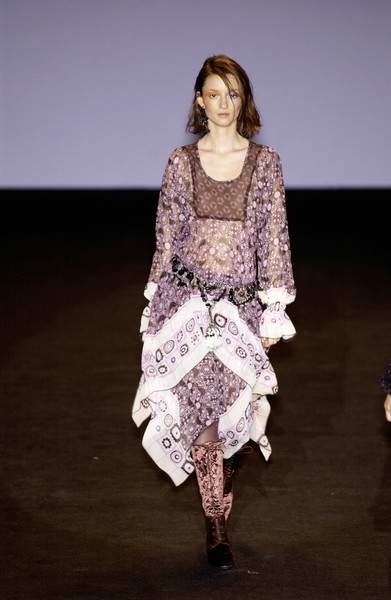 Anna Sui at New York Fall 2002