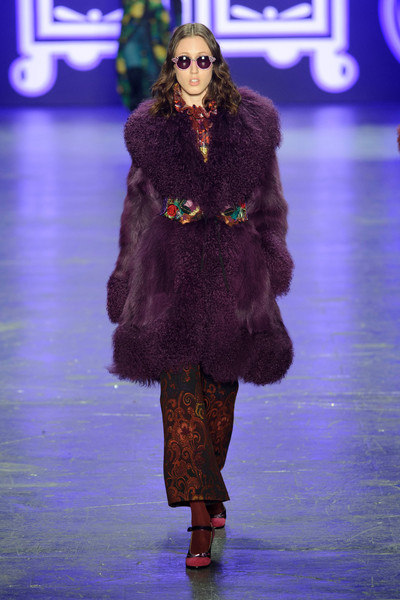 Anna Sui at New York Fall 2016