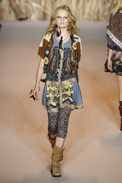 Anna Sui at New York Spring 2011