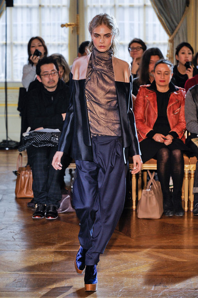 Anne Valérie Hash at Paris Fall 2012