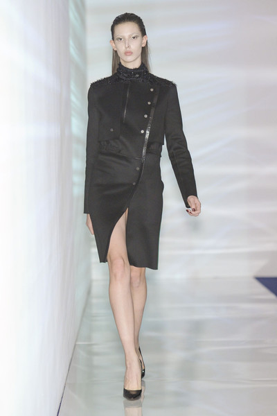 Anthony Vaccarello at Paris Fall 2011