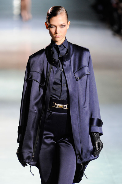 Anthony Vaccarello at Paris Fall 2012