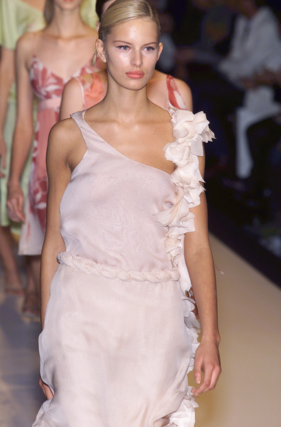 Antonio Berardi at Milan Spring 2001