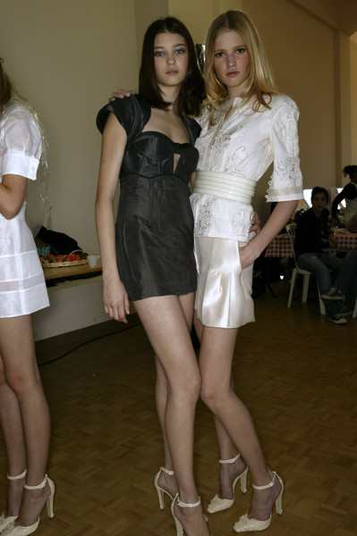 Antonio Berardi at Paris Spring 2007 (Backstage)