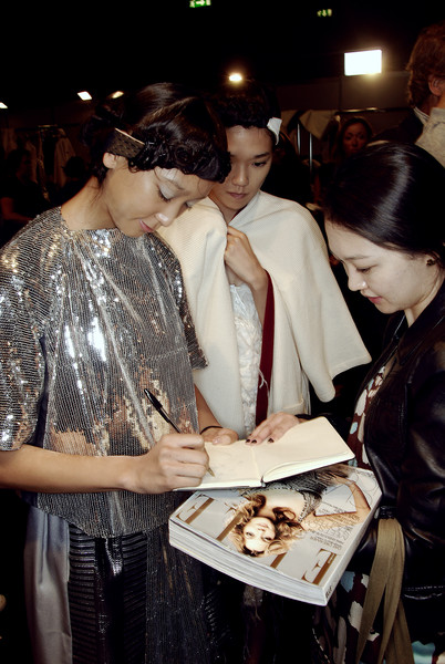Antonio Marras at Milan Spring 2008 (Backstage)