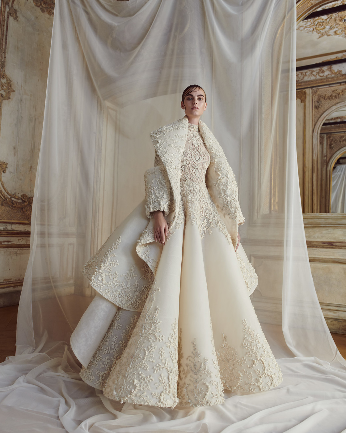 Haute Couture Wedding Gown: Ashi Studio At Couture Fall 2018