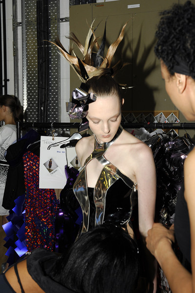 Ashley Isham at London Spring 2008 (Backstage)