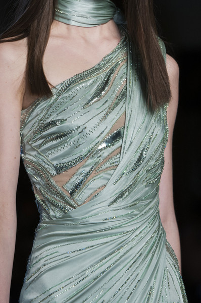 Versace Couture Details, Spring 2014