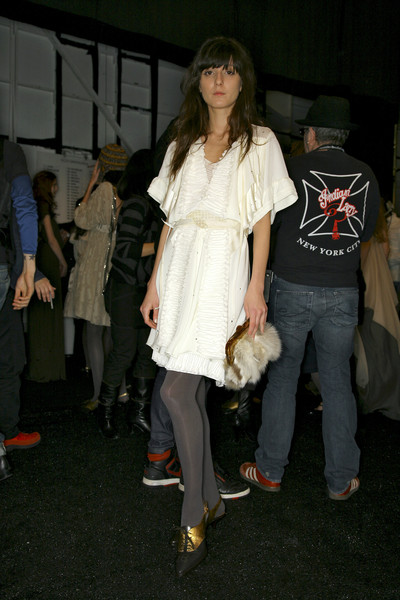 BCBG Max Azria at New York Fall 2007 (Backstage)