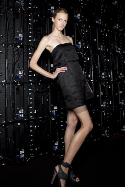 BCBG Max Azria at New York Spring 2011 (Backstage)