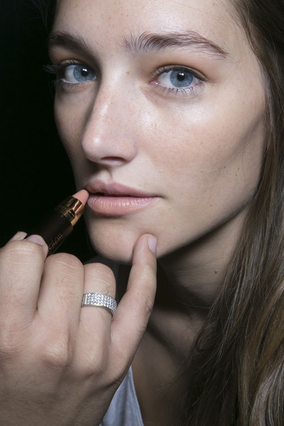 BCBG Max Azria at New York Spring 2014 (Backstage)