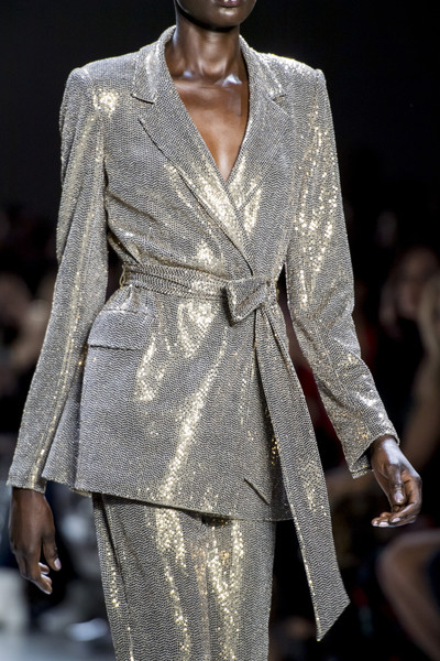 Badgley Mischka at New York Fall 2019 (Details)