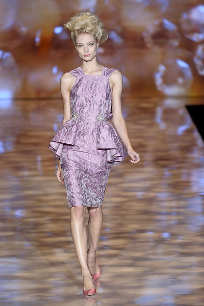 Badgley Mischka at New York Spring 2012