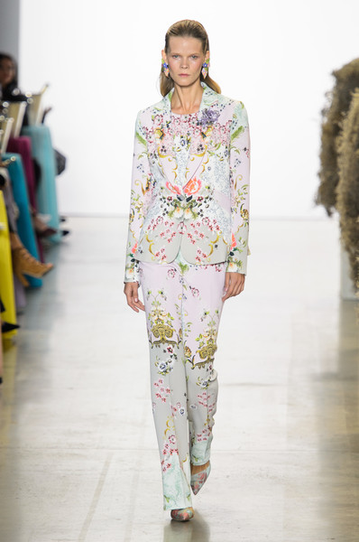 Badgley Mischka at New York Spring 2019