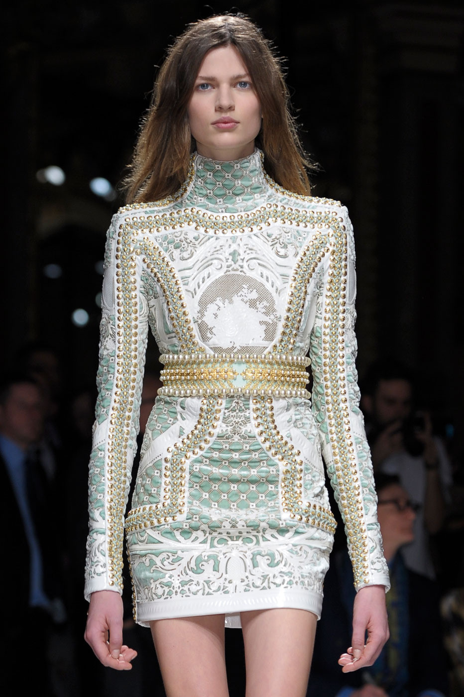 Balmain at Paris Fashion Week Fall 2012