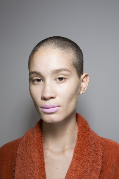 Beautiful People at Paris Fall 2018 (Backstage) [hair,face,forehead,eyebrow,hairstyle,lip,head,chin,cheek,buzz cut,beautiful people,fashion,fashion week,runway,beauty,hairstyle,face,forehead,paris fashion week,fashion show,paris fashion week,fashion,fashion show,ready-to-wear,runway,beauty,runway entertainment,fashion week,portrait -m-,beautiful people]