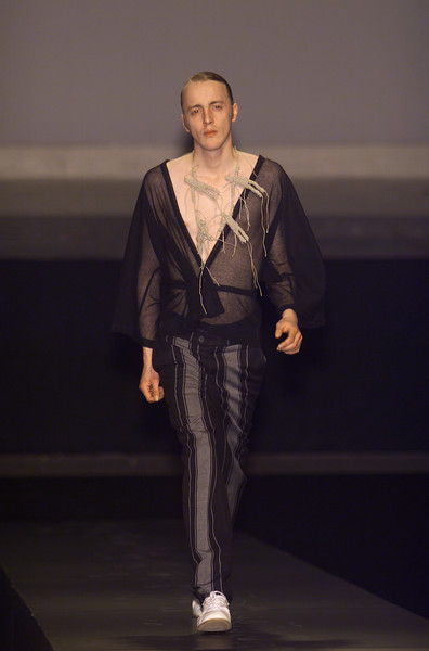 Bernhard willhelm at paris fashion week fall 2001 livingly - Bernard wilhelm ...