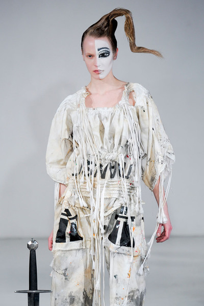 Bernhard Willhelm at Paris Fall 2012