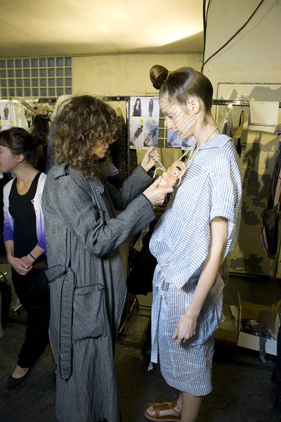 Bernhard Willhelm at Paris Spring 2009 (Backstage)