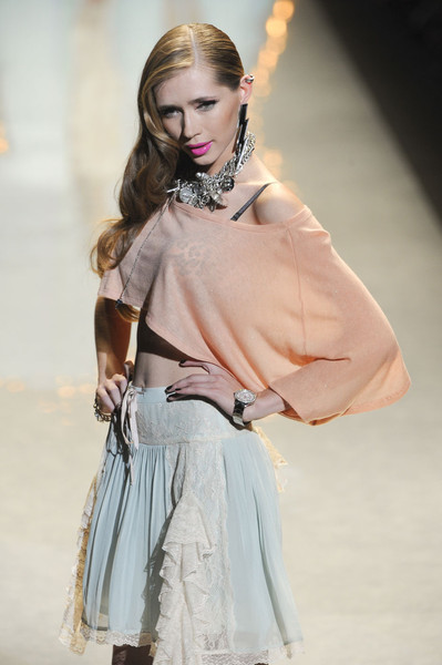 Betsey Johnson at New York Spring 2012