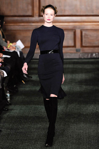 Bill Blass at New York Fall 2012