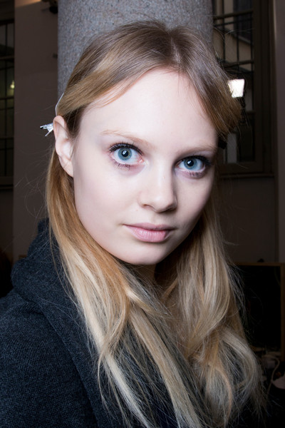 Blugirl at Milan Fall 2014 (Backstage)