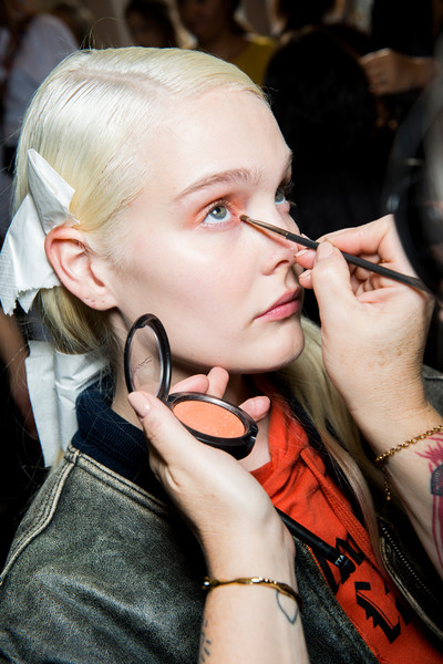 Blugirl at Milan Fall 2017 (Backstage)