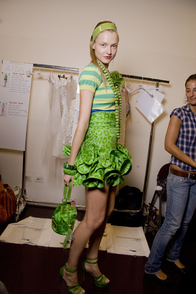 Blugirl at Milan Spring 2010 (Backstage)