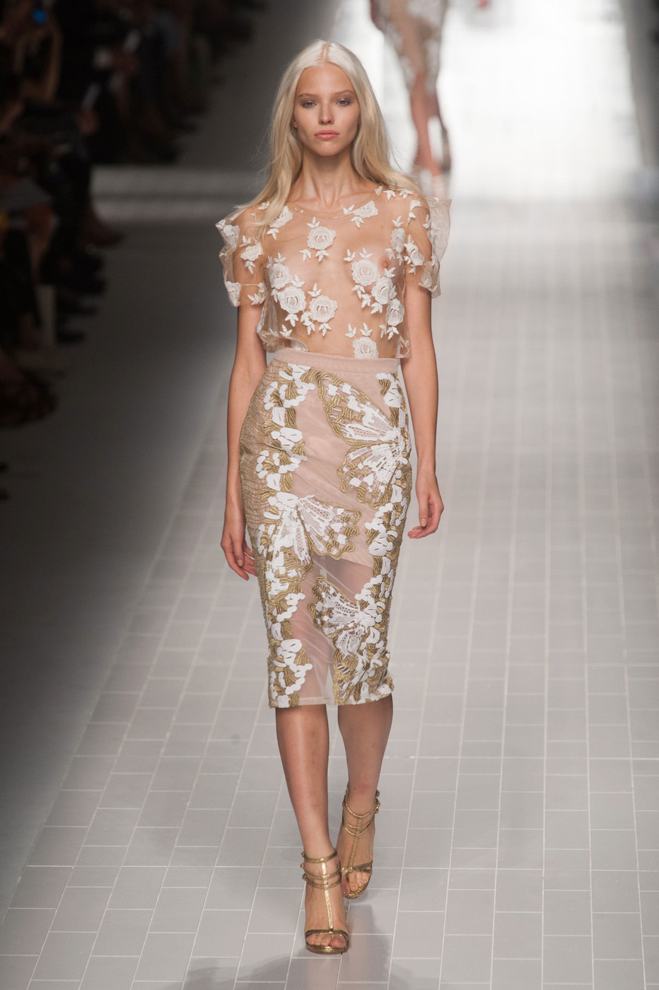Blumarine At Milan Fashion Week Spring 2014 Livingly