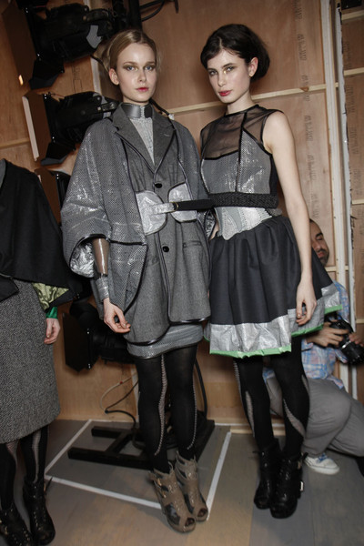 Bora Aksu at London Fall 2011 (Backstage)