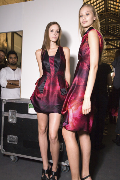 Braganza at Milan Spring 2009 (Backstage)