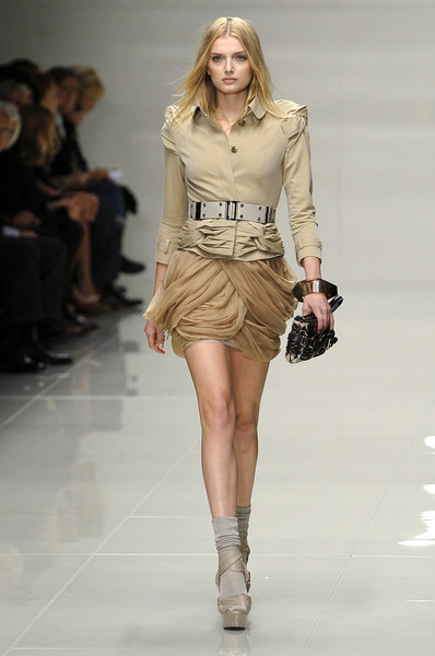 Burberry Prorsum at London Spring 2010