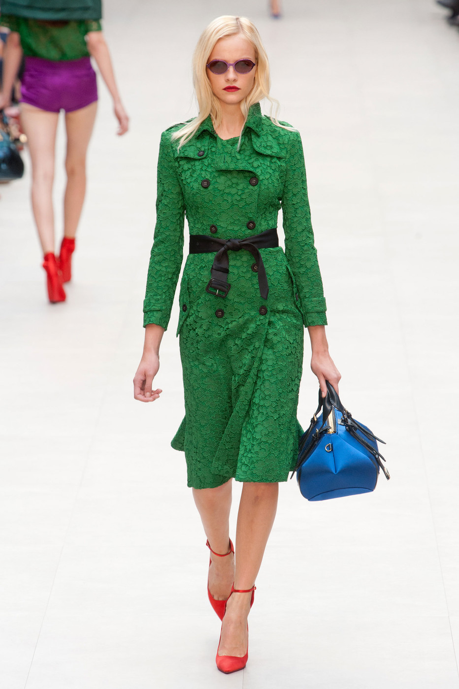 5d06bf1bfcbd3 Burberry Prorsum at London Fashion Week Spring 2013 - Livingly