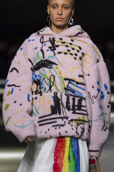 Burberry Prorsum at London Spring 2018 (Details)